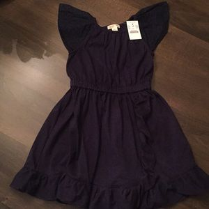 Crewcuts everyday flutter dress, size 5 NWT